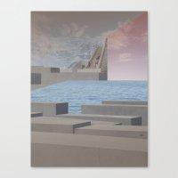 Atmosphere 29 · Eternit… Canvas Print