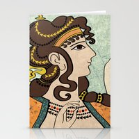 Ladies Of The Court Stationery Cards