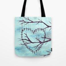 Key Tree Tote Bag