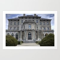 The Breakers Mansion2 - Newport, Rhode Island Art Print