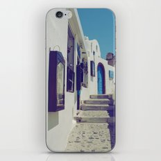 Santorini Walkway V iPhone & iPod Skin