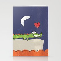 Alligator Stationery Cards