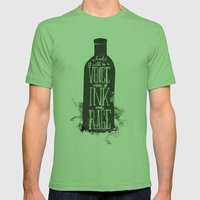 Rum Diary Mens Fitted Tee Grass SMALL