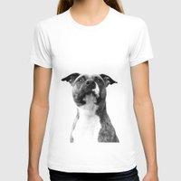dog T-shirts featuring Dog by Falko Follert Art-FF77