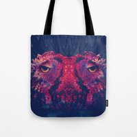 Face to face, owl to owl Tote Bag