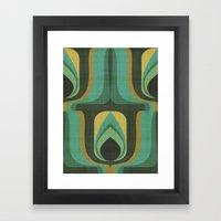 MCM Paon Framed Art Print