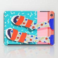 No Doi - memphis throwback retro classic style fashion 1980s 80s hipster shoes socks urban trendy iPad Case