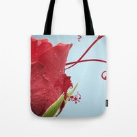 Rose, Reinvented Tote Bag