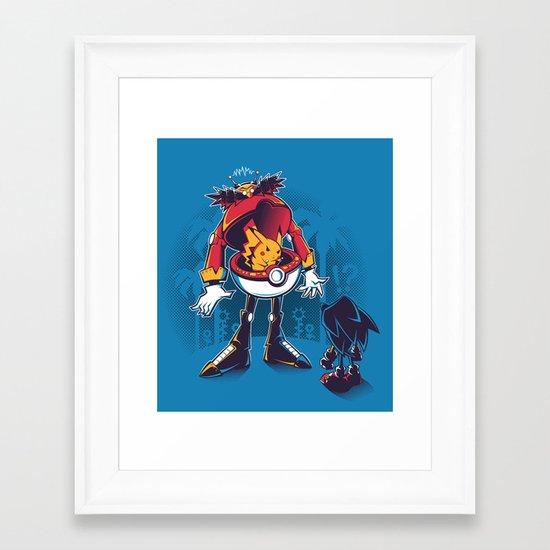 Gotta Crush 'Em All Framed Art Print