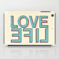 Love Life iPad Case