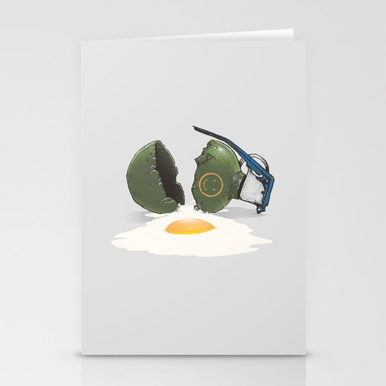 Eggsplosion Stationery Card