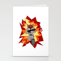 Fox Commando Stationery Cards