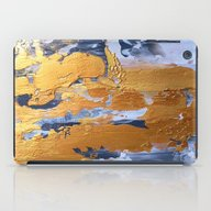 iPad Case featuring Gold In The Ice by Haroulita
