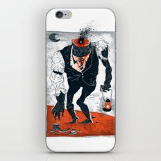 The Haunted Conductor iPhone & iPod Skin