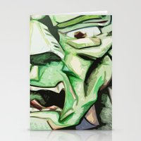 Hulk Abstract Stationery Cards