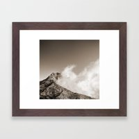 Volcanism Framed Art Print