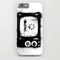 iPhone & iPod Case featuring Loading... by Tshirtbaba