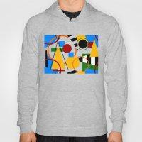 Abstract Art Deco Bermud… Hoody