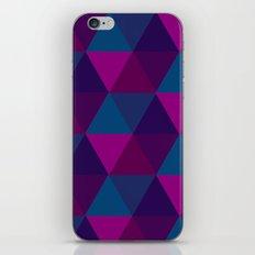 Hexagons 1 iPhone & iPod Skin