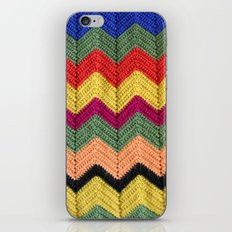 Rainbow Chevron Afghan iPhone & iPod Skin