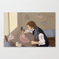 Feuilly's Studio Canvas Print