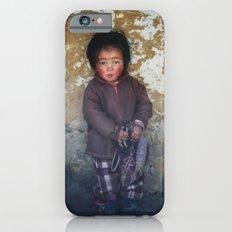 Portrait Of Serious Youn… iPhone 6 Slim Case
