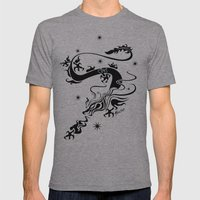 Black Dragon Mens Fitted Tee Athletic Grey SMALL