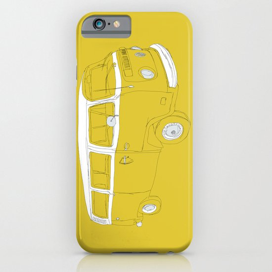VW T2 Microbus iPhone & iPod Case