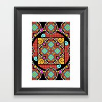 Best Blanket Mandala Framed Art Print