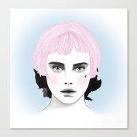 Fashion Illustration - C… Canvas Print