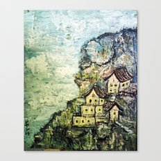 HIMALAYAN VILLAGE Canvas Print