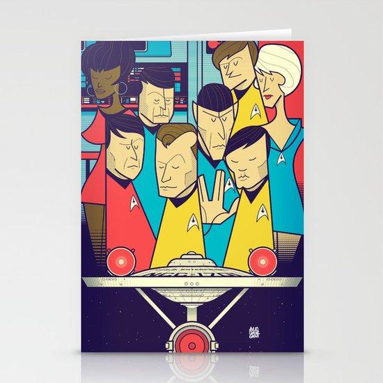 Star Trek Stationery Card