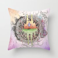 Master of Dimensions Throw Pillow