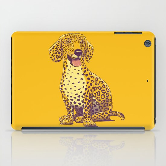 Take a Woof on the Wild Side! iPad Case