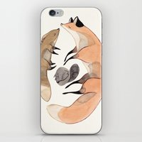 apesanteur iPhone & iPod Skin