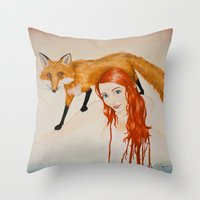 Slink Throw Pillow