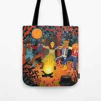 The Spirits Of Autumn Tote Bag