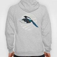 Magpie in Flight Hoody