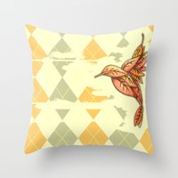I Carried You Into November Throw Pillow