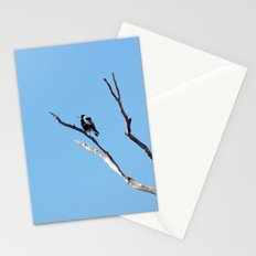 The Magpie that Comes and Goes Stationery Cards