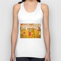 Forest Prom Unisex Tank Top
