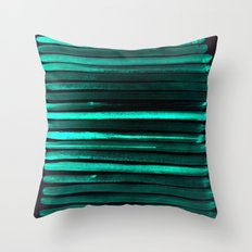 We Have Cold Winter Teal… Throw Pillow