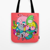 Scribble Ball Tote Bag