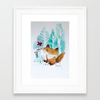 Fantastic Mr. Fox Framed Art Print