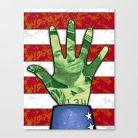 HELPING HAND Canvas Print