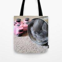 Gamer Bunny Tote Bag
