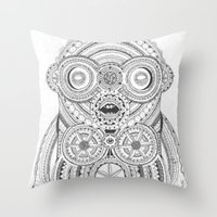Aplonon Throw Pillow