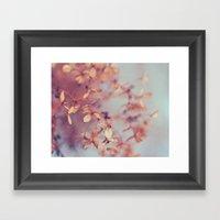 January Fog Framed Art Print