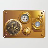Steampunk Canvas Print