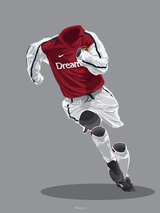 Arsenal 2001/02  Art Print